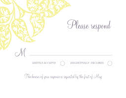 wedding invitations with response cards wedding response card template infocard co