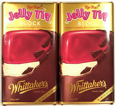 2 x 250g blocks of whittaker u0027s raspberry jelly tip milk white