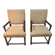 Wooden Arm Chairs Vintage U0026 Used Dining Chairs Chairish
