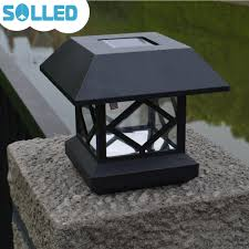 Solar Lights On Fence Posts by Online Get Cheap Solar Fence Post Caps Aliexpress Com Alibaba Group