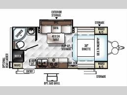 Rockwood Camper Floor Plans New 2017 Forest River Rv Rockwood Mini Lite 2109smb Travel Trailer