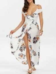 floral dresses women u0027s maxi print long black u0026 white floral