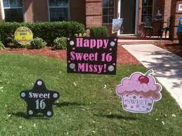 Backyard Sweet 16 Party Ideas Birthday Lawn Decorations Cleveland Image Inspiration Of Cake