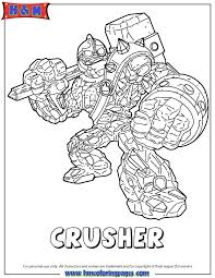 crusher coloring pages coloring
