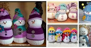 Diy Sock Snowman 15 Creative Tutorials For Making Sock Snowmen