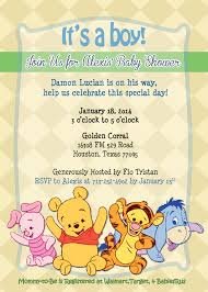 adorable winnie the pooh baby shower invitations future fam