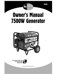 power fist 13 hp 389cc ohv gas engine owner s manual