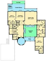 Mediterranean Floor Plans With Courtyard Plan 42829mj Dramatic Mediterranean Home Plan Architecture And