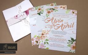 wedding invitations quezon city wedding invitation philippines 2016 style by modernstork