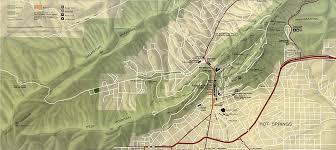 Ouachita Mountains Map Springs