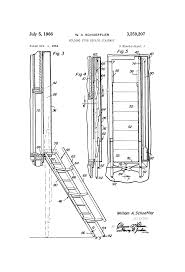 patent us3259207 folding fire escape stairway google patents
