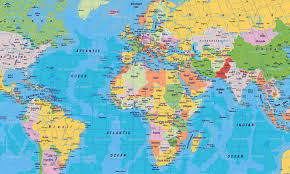 clear world map with country names world map with country names in arabic