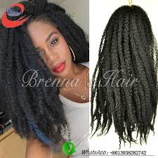 difference between afro twist and marley hair 16 kinky braiding hair bulk synthetic marley braiding hair