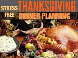 stress free thanksgiving dinner planning what s cooking america