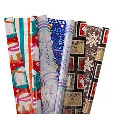 reversible christmas wrapping paper gifts plus 12 rolls christmas wrapping paper 100 small