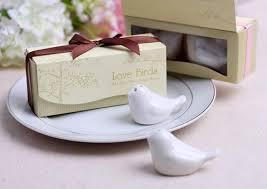 appropriate engagement party gifts ceramic birds seasoning cans wedding marriage engagement