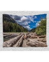 Driftwood Decor Great Deal On Driftwood Decor Tapestry Driftwood On A Lake At