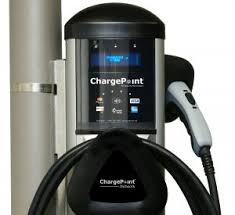 electric vehicle charging station first u0026 main town center