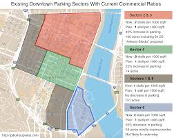 Portland Parking Map A Step Backwards Portland May Invite More Cars Into The Central City