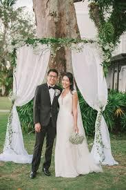 wedding backdrop penang the inside scoop edmund and shiew li s rustic wedding in penang
