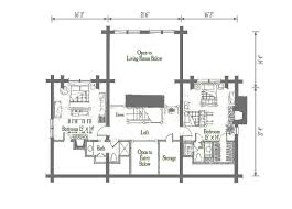 wyoming log home plan