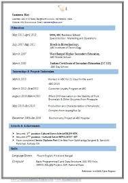 easy resume easy resume format inssite