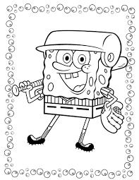spongebob 13 coloringcolor com