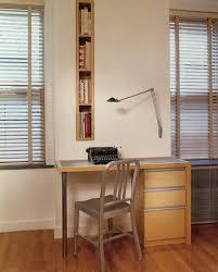 built in bookshelf bedroom modern with window treatment wicker
