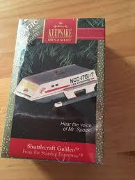 1992 hallmark trek shuttlecraft galileo magic