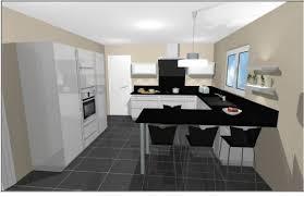 implantation cuisine en u cuisine en u idées renovation