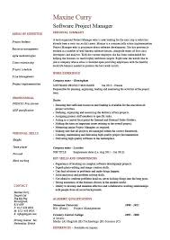 Warehouse Job Duties For Resume by Software Project Manager Resume Example Sample Fixing Bugs