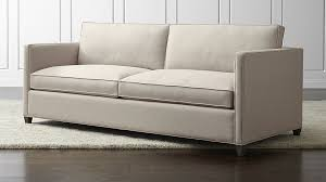 sofas and sectionals com dryden grey modern sofa crate and barrel