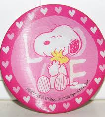 peanuts snoopy woodstock love valentines lenticular holographic