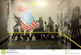 african americans marching wall mural exhibit inside the national editorial stock photo download african americans marching wall mural
