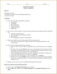 proper resume format starengineering