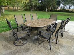 Marble Patio Table Impressive Marble Patio Set 8 Chairs Outside Montreal Montreal