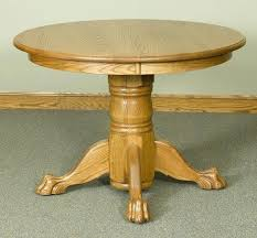pedestal dining table with leaf round pedestal table with claw feet walnut creek furniture round