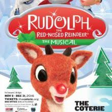 rudolph red nosed reindeer musical coterie theatre