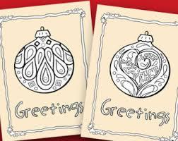 coloring christmas cards 20 diy printable christmas cards