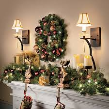Banister Christmas Garland How To Decorate Garland Improvements Blog