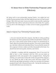 proposal letter business proposal template 13 30 business