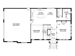 open floor plan home plans open floor plan house plans for houses best single story cottage one