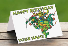 printable birthday cards with turtles free printable ninja turtle birthday cards ninja turtles