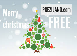 merry christmas free prezi template preziland for animated