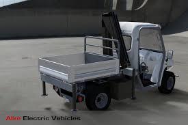 electric truck small crane truck