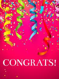 congratulatory cards big celebration congratulations card birthday greeting cards
