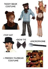 Freddy Halloween Costumes Nights Freddy U0027s Costume Ideas Halloween Costume Ideas