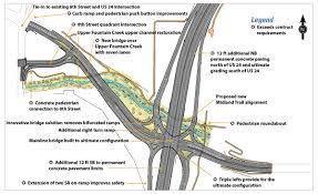Zip Code Map Colorado Springs by I 25 Cimarron Street Us 24 Interchange Design Build Project U2014