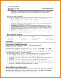 examples of resumes for management positions account manager job