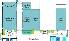 room floor plan event rooms u0026 floor plans 4 h center